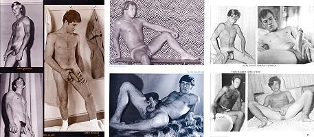 215 vintage naked male models