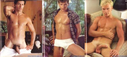 american naked guys vintage