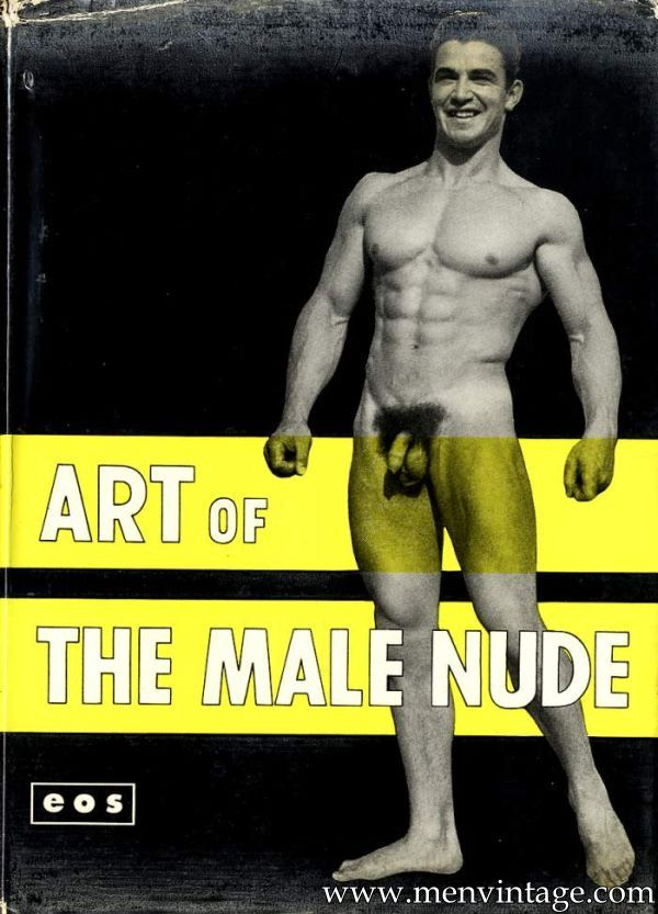 naked muscle men vintage magazine
