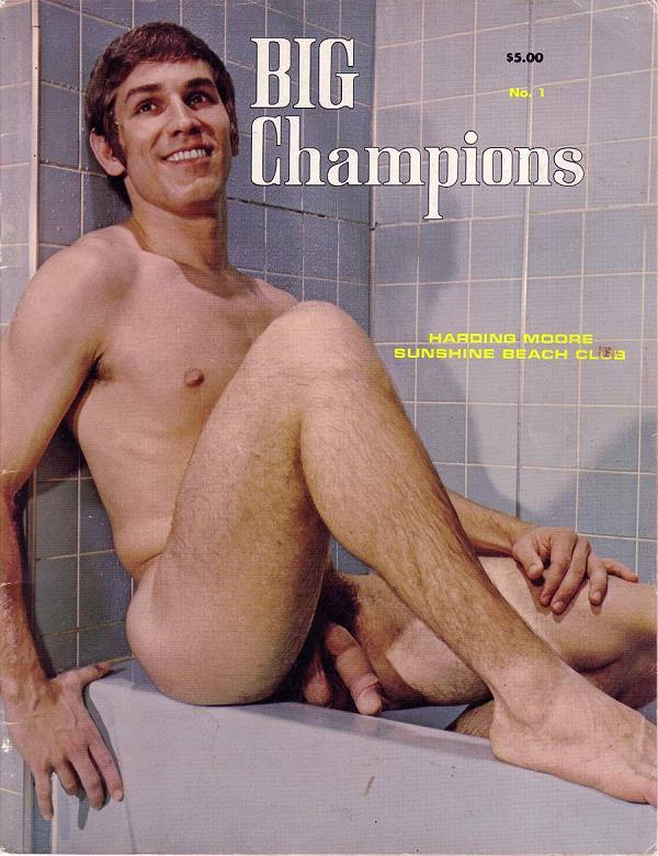 muscle men vintage erotica