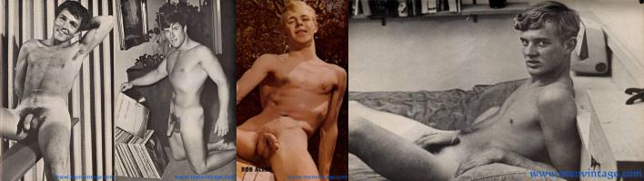 naked vintage guys