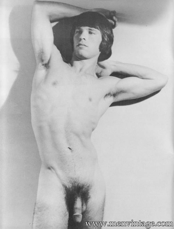 vintage magazine with naked jocks