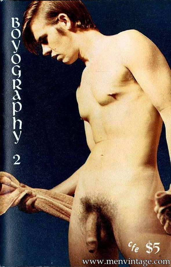 naked boys erotica in vintage magazine