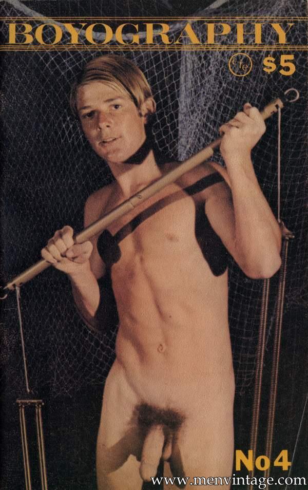 nude bpys in vintage magazine boyography # 4