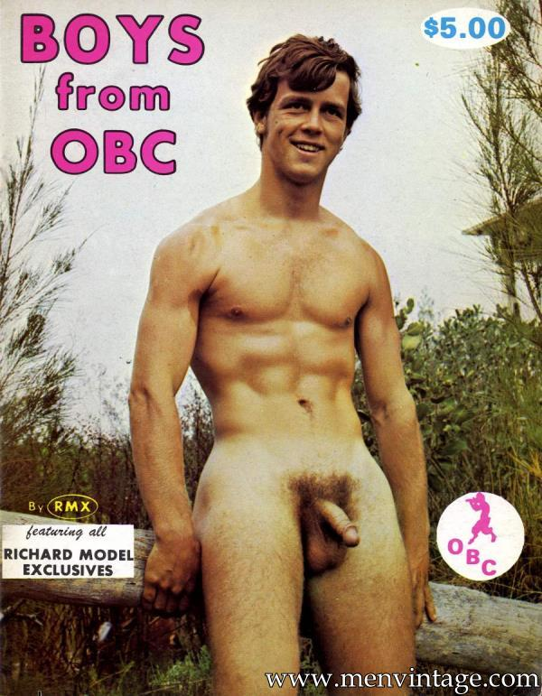 male vintage erotic magazine with young muscle boys naked
