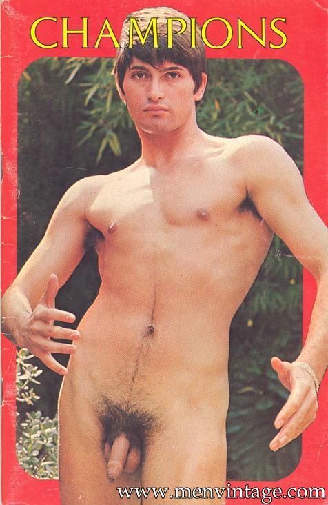 male vintage erotica magazine