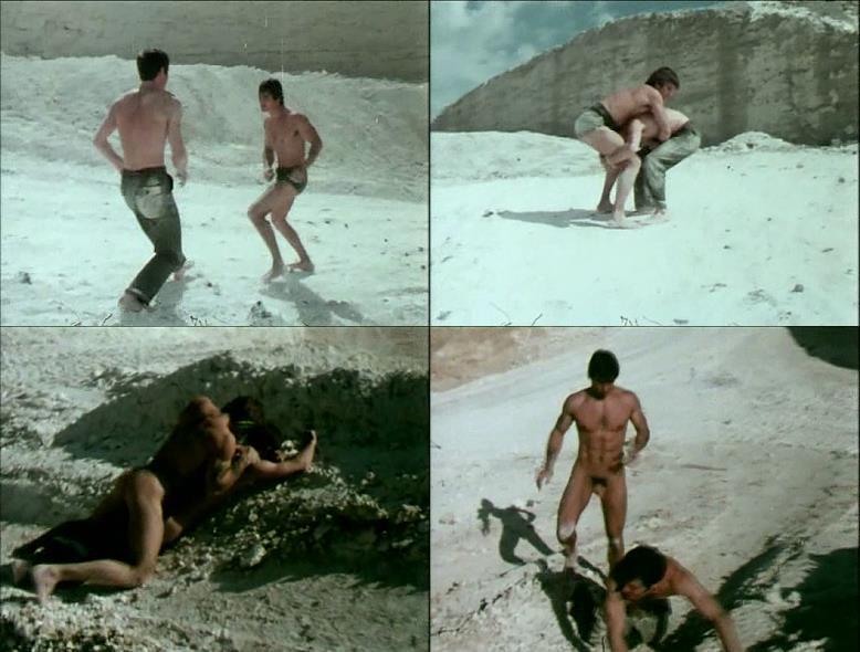 nude men naked wrestrling