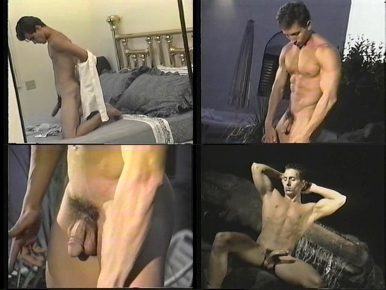 sexy muscle men masturbating video