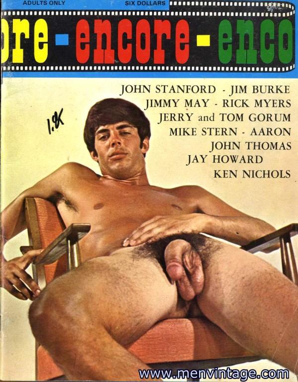 male vintage erotic art