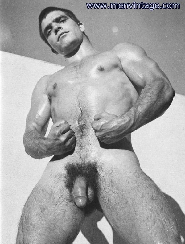 muscle men nude in male erotic art