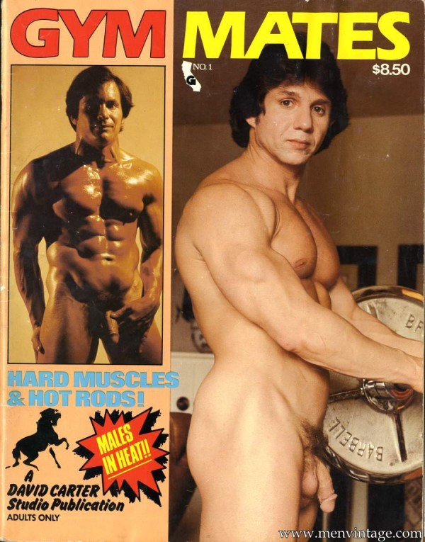 naked muscle men vintage