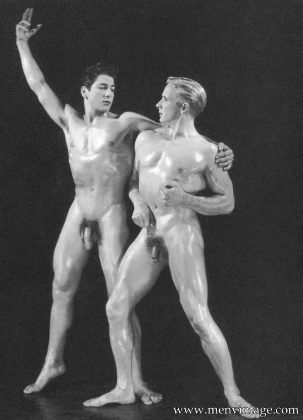 Beautiful muscle men naked