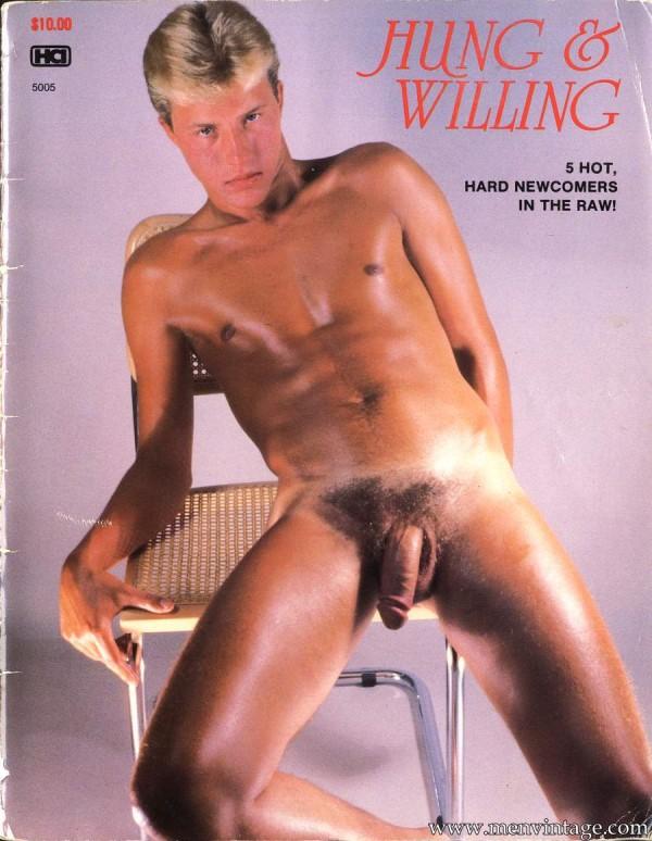 hot naked guys in male erotic magazine