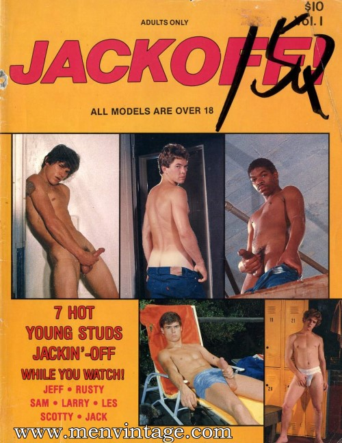 naked guys in gay vintage erotica