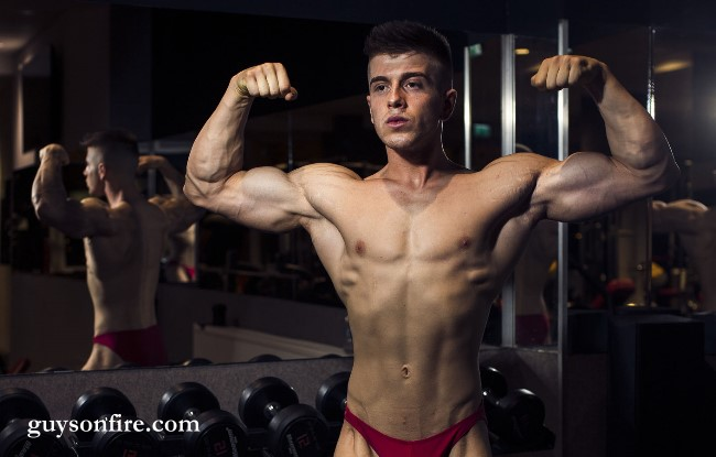 bodybuilder boy webcam