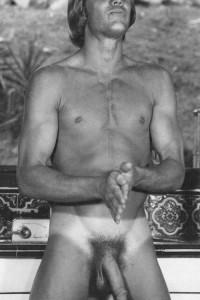 muscle men naked in vintage male erotica