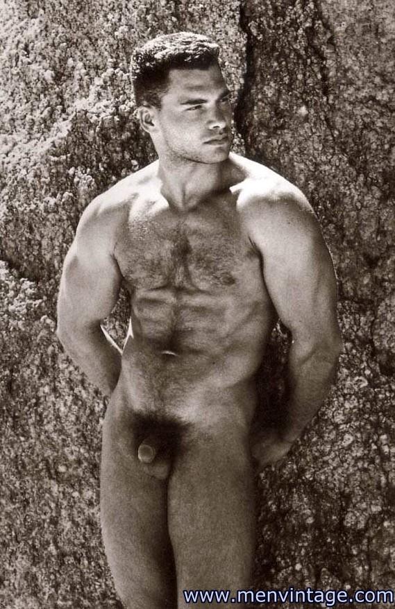 Muscle Men Nude Outdoors In Desert Patrol Magazine - Male -4622