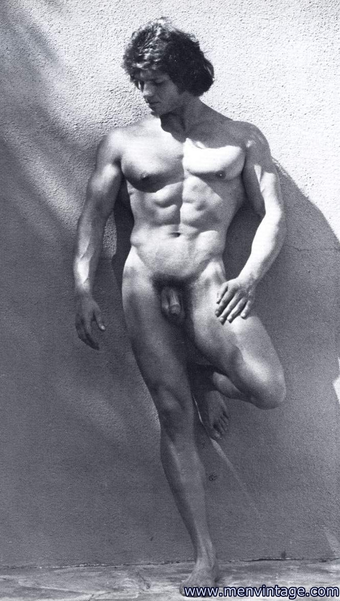 Vintage nude men naked time become