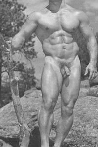 Male vintage erotica with hot muscle men