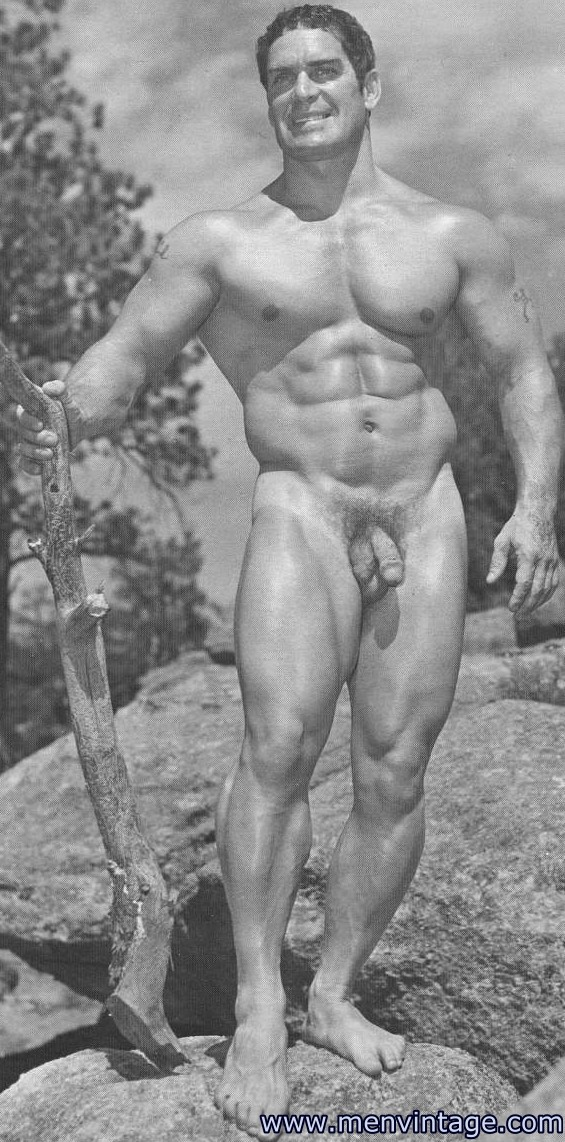 from Thaddeus vintage naked muscle men