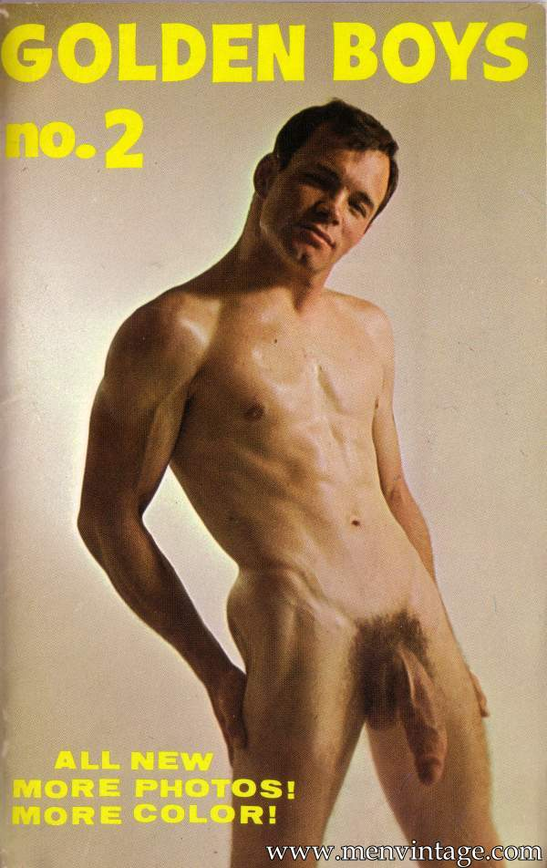 Male erotica of Golden Boys magazine