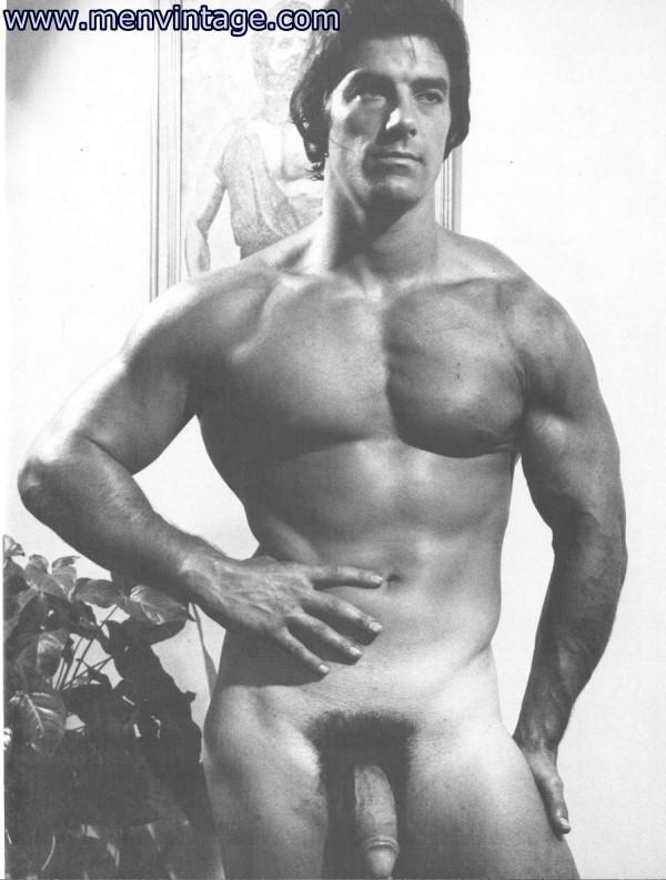 Vintage nude male bodybuilders