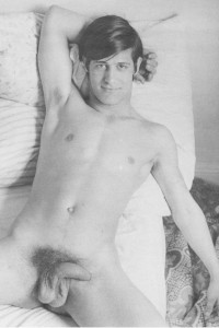 male athletes nude in male vintage erotica
