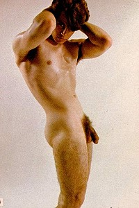 male vintage naked photo art