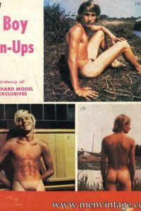 Nude boys in male erotic vintage photography