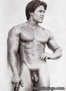 muscle men in vintage male erotica